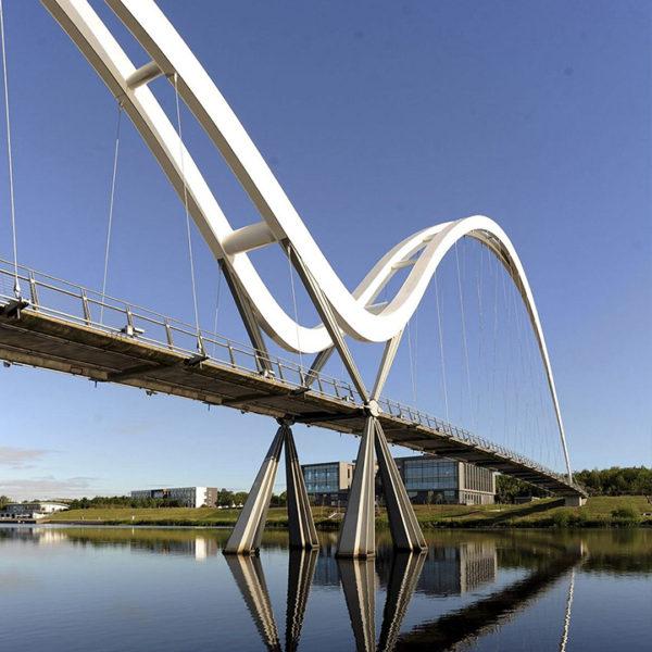 Stockton North Shore Infinity Bridge