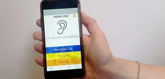 HearClear App on Phone